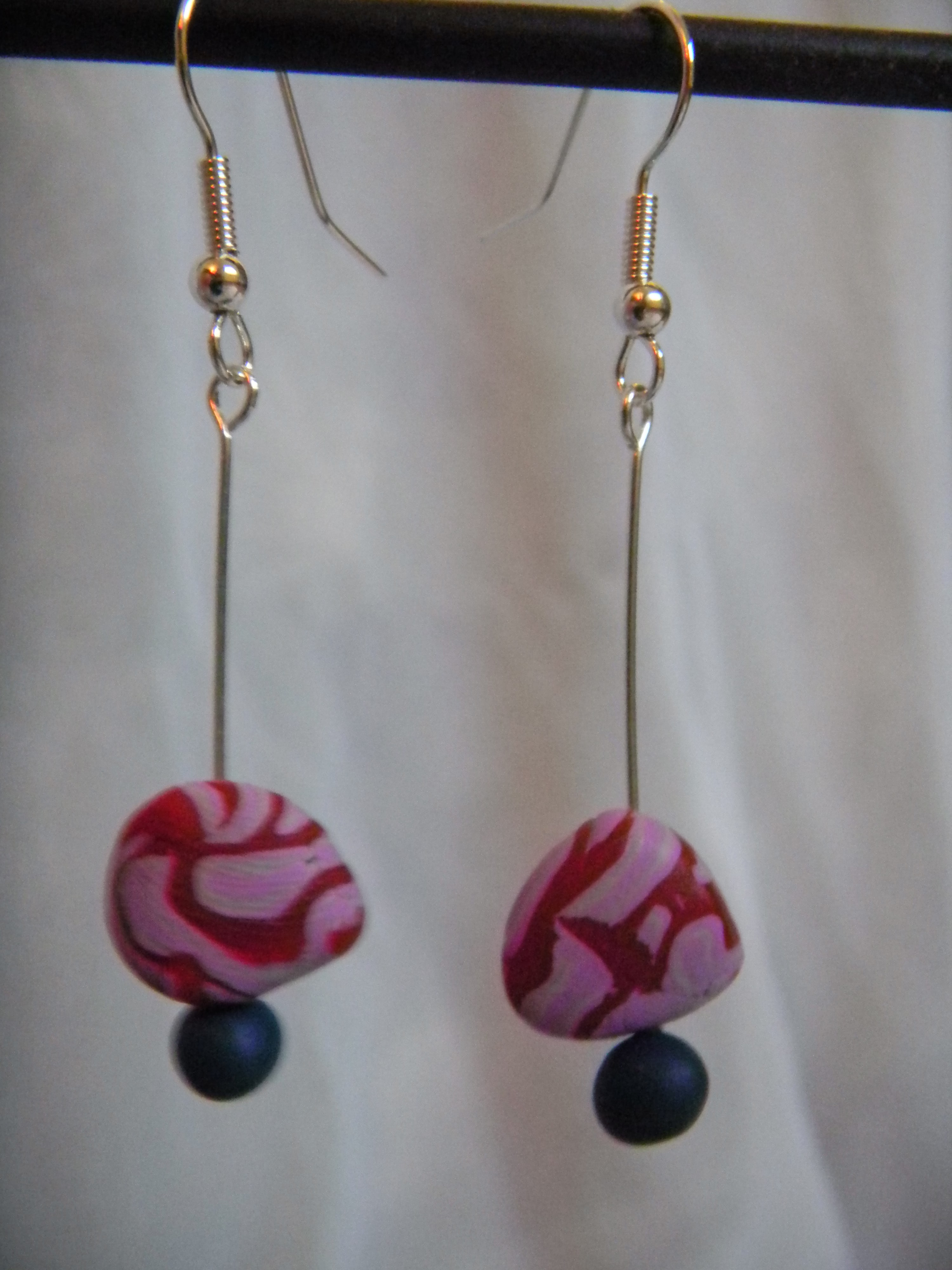 Louise.h bijoux BO rose et bleu