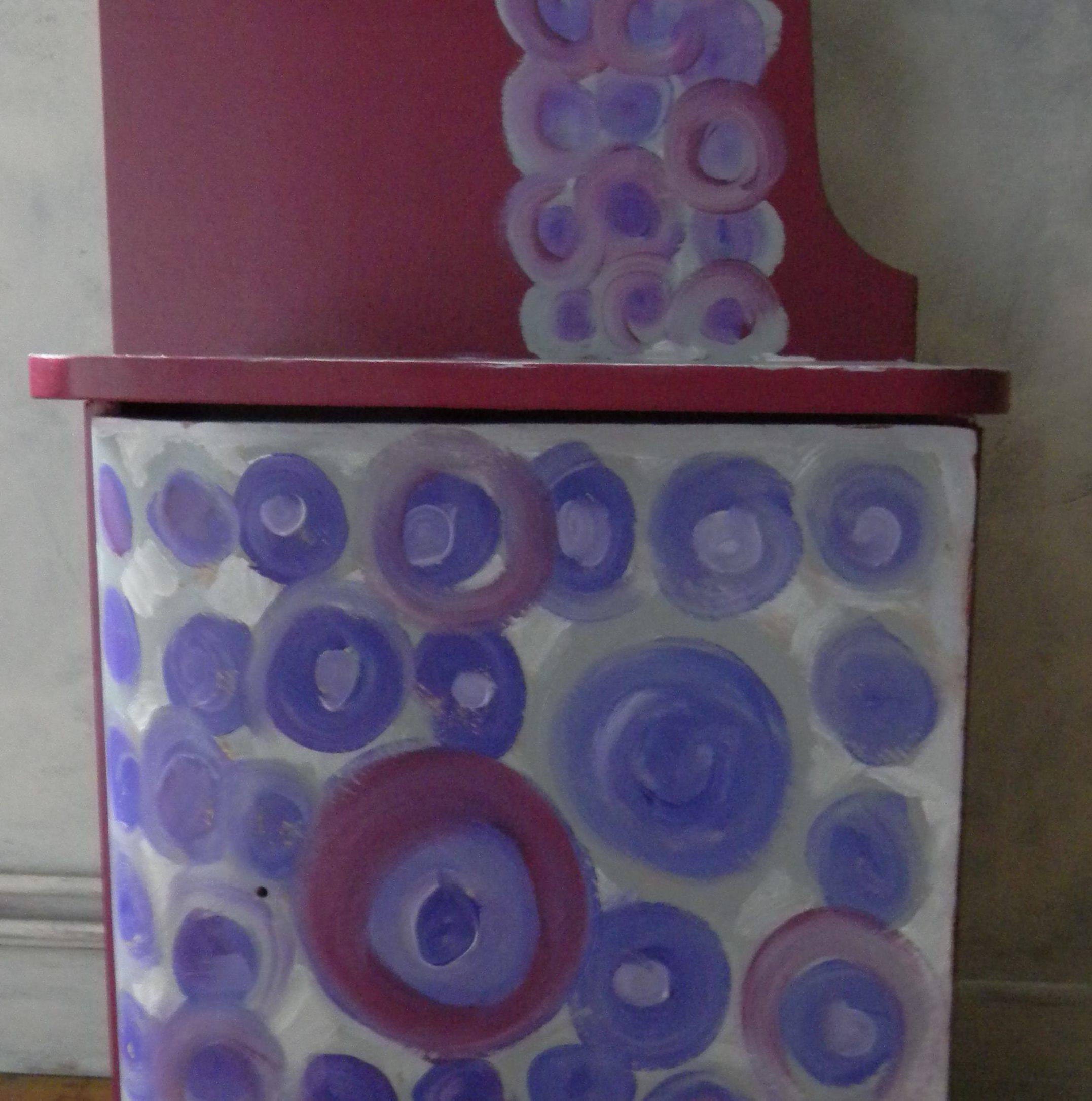 Louise.h meuble table de nuit 1930 remis en état