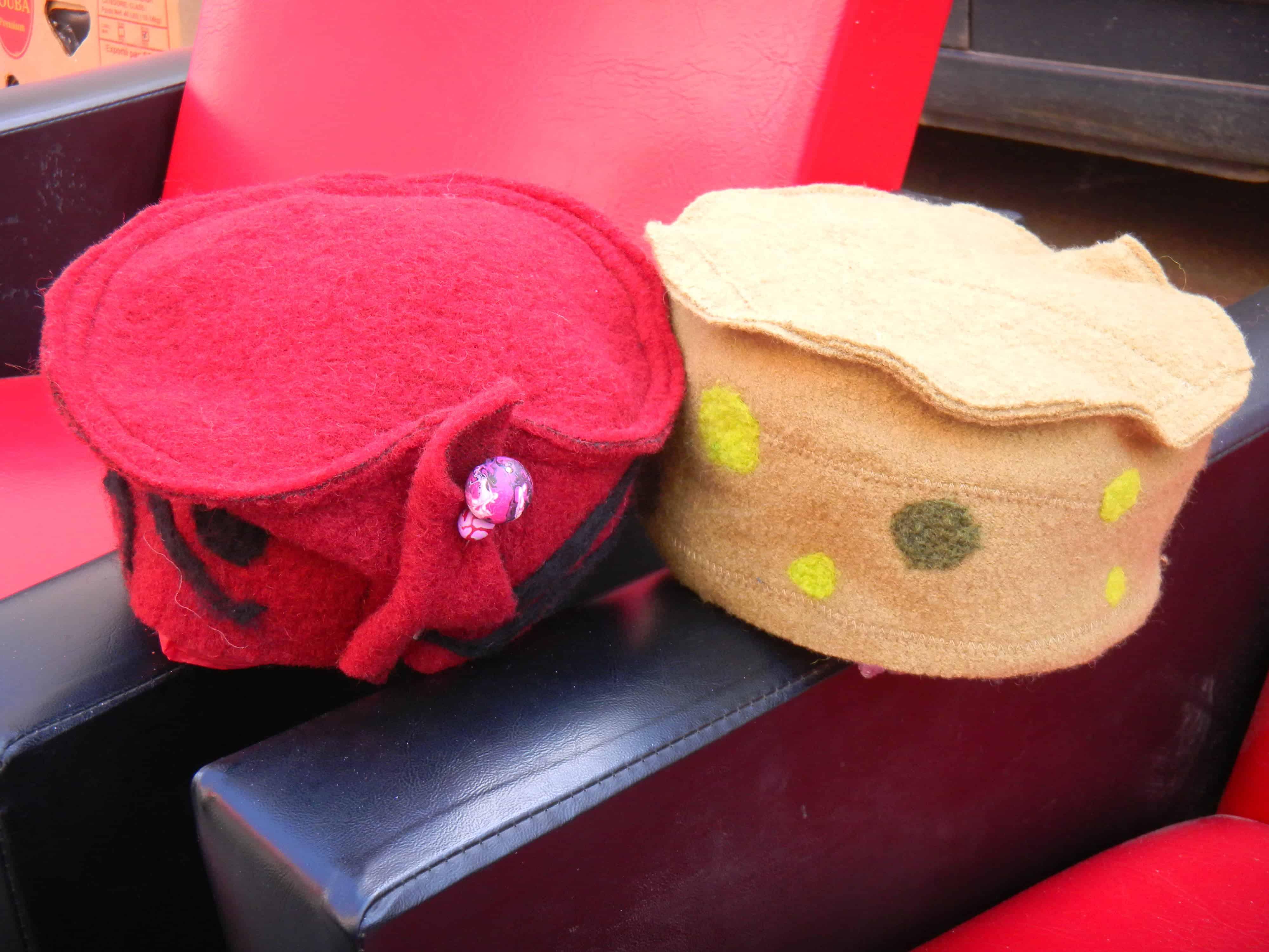 Louise.h accessoires chapeaux feutrés