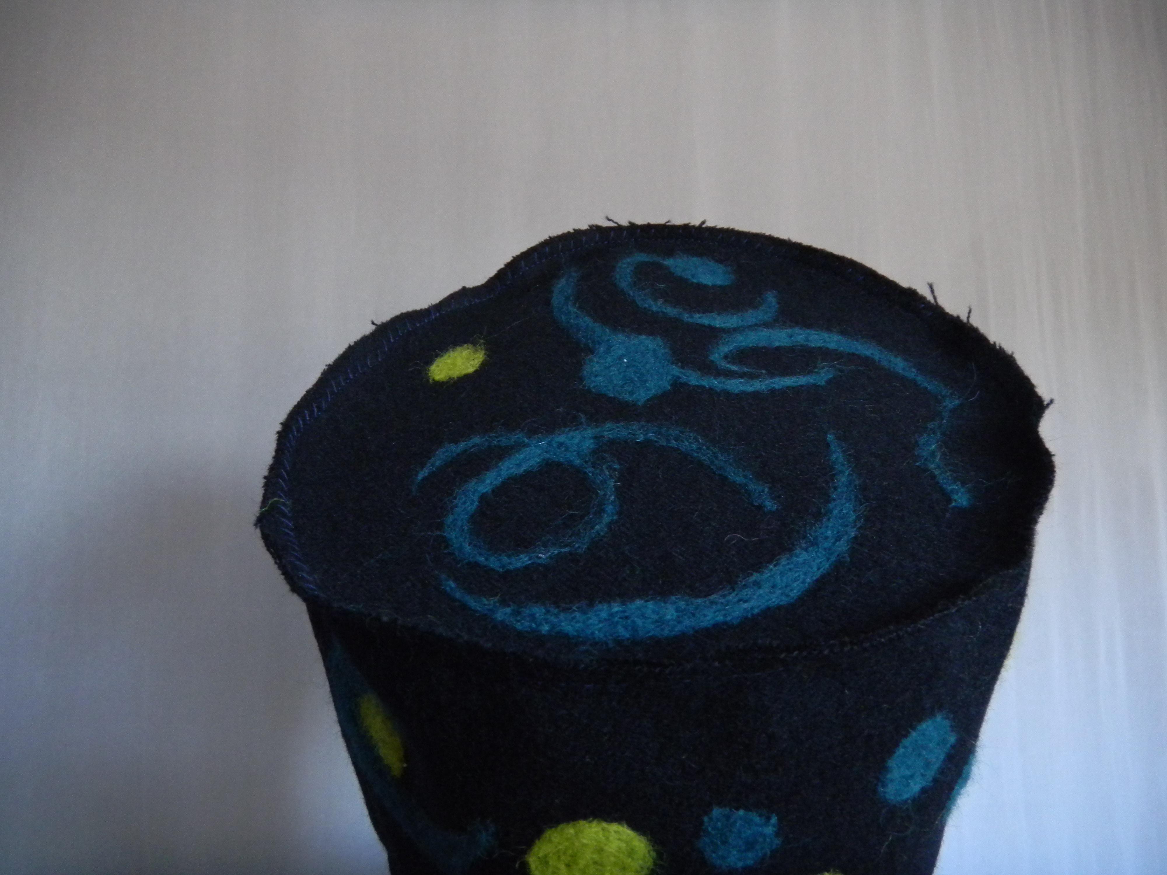 Louise.h accessoires chapeau laine et feutrage