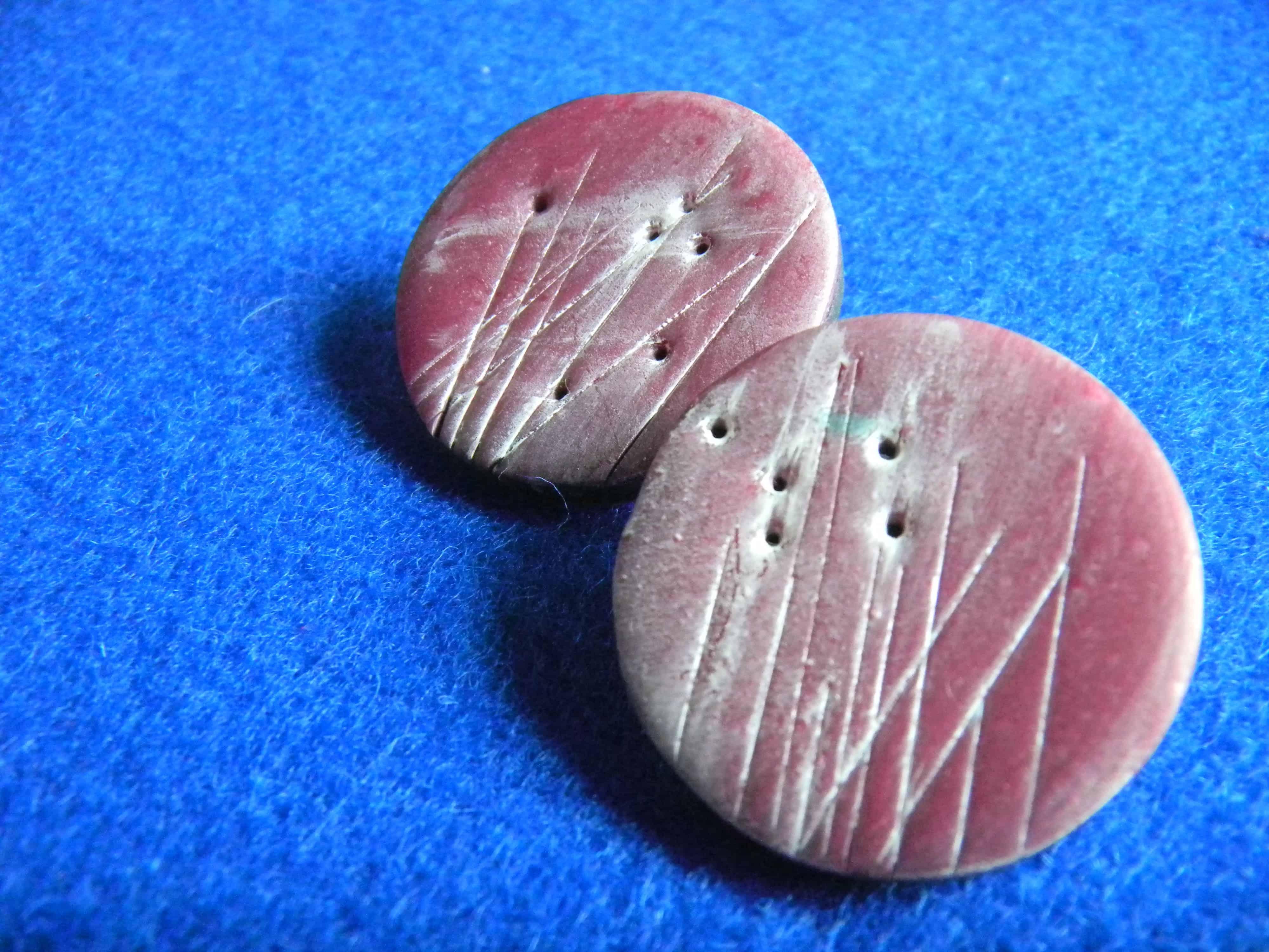 Louise.h bijoux bague rose en polymère et acrylique