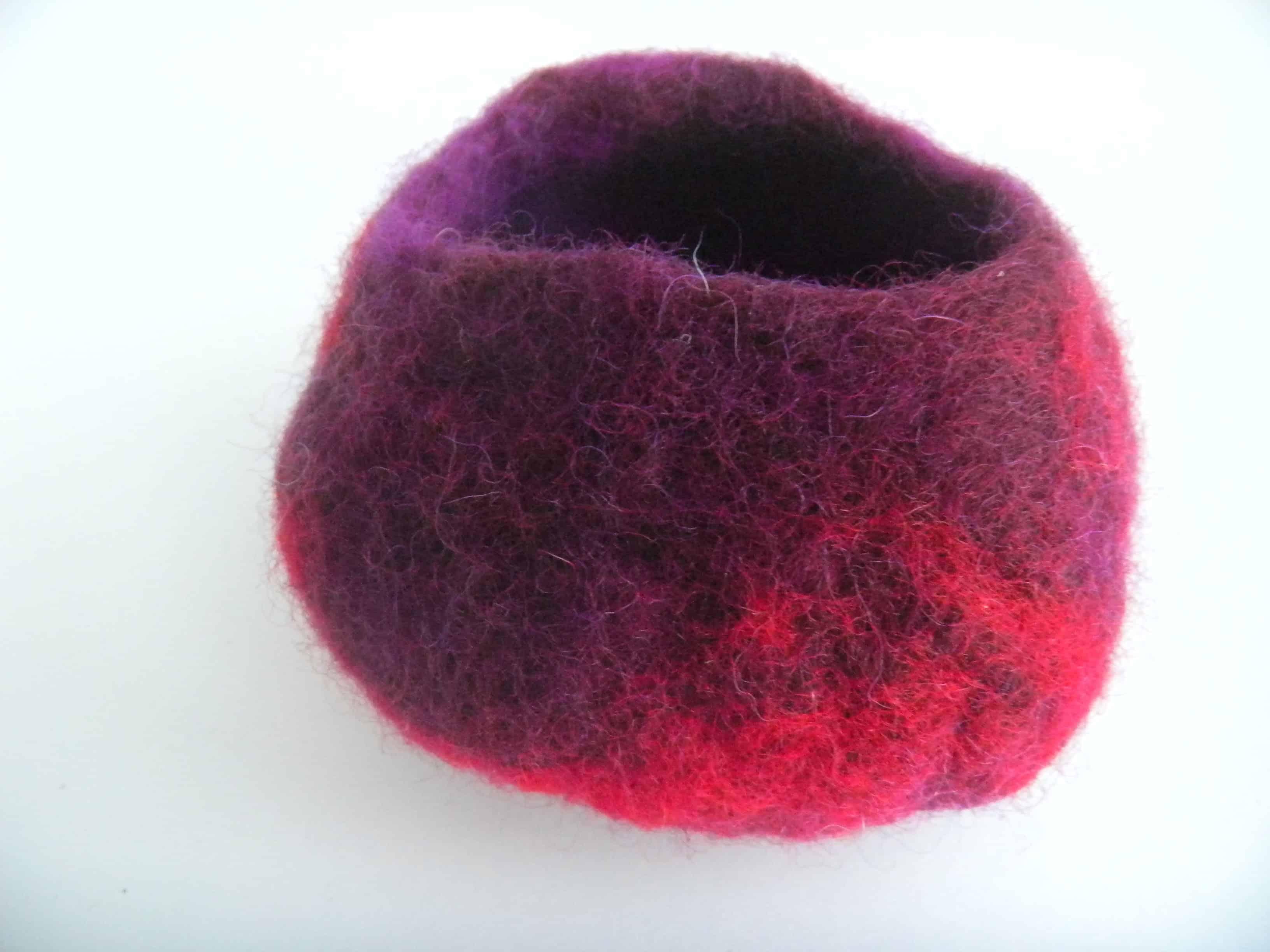 Louise.h décoration pot laine feutrée 5